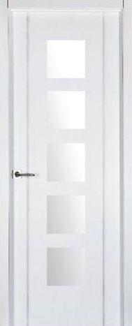 Puerta lacada blanca pv2-05-Finolledo
