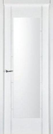 Puerta lacada blanca pvr-01-Finolledo