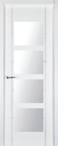 Puerta lacada blanca pvr-14-Finolledo