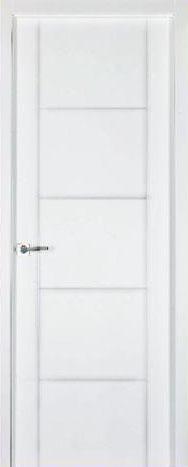 Puerta lacada blanca pvr-Finolledo